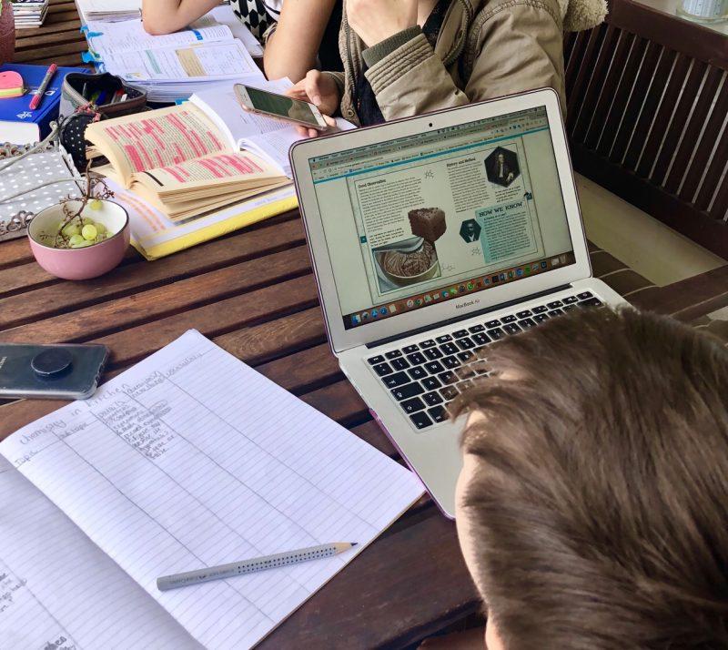 Wochenende in Bildern: Lernzeit | berlinmittemom.com