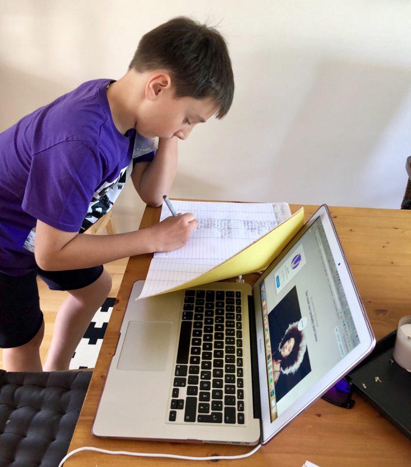 Wochenende in Bildern: Hausaufgaben | berlinmittemom.com