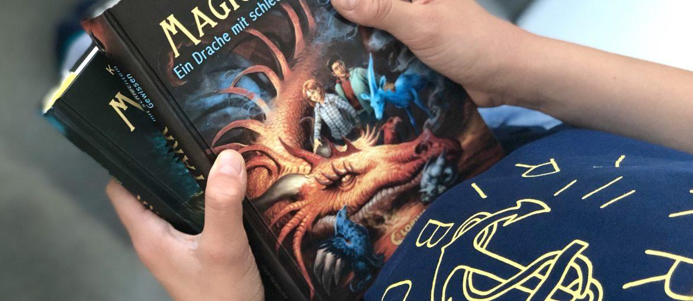 Buchtipp für Jungen ab 10   Fantastische Abenteuer mit der Magic Park-Reihe