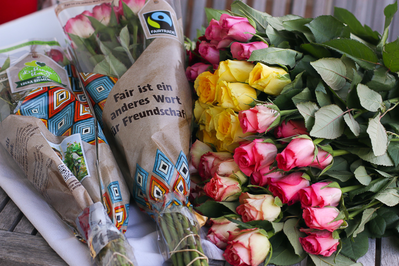 Fairtrade Rosen von EDEKA | berlinmittemom.com