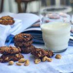 Rezept für Erdnussbutter Haferflocken Kekse | berlinmittemom.com