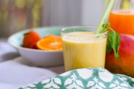 Fruchtsaft Shake mit Joghurt | berlinmittemom.com