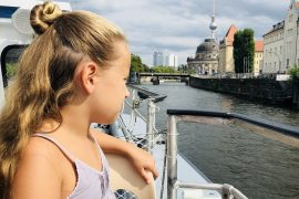 Berlinmittekids auf der Spree | berlinmittemom.com