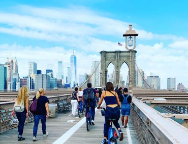 NYC Brooklyn Bridge by bike | berlinmittemom.com
