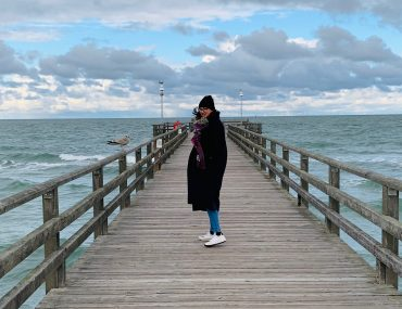 Seebrücke Prerow im Oktober | berlinmittemom