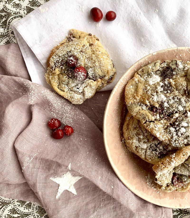 Rezept für Cranberry Schoko Plätzchen | berlinmittemom.com