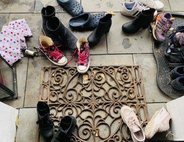 Viel Besuch, viele Schuhe | berlinmittemom,com