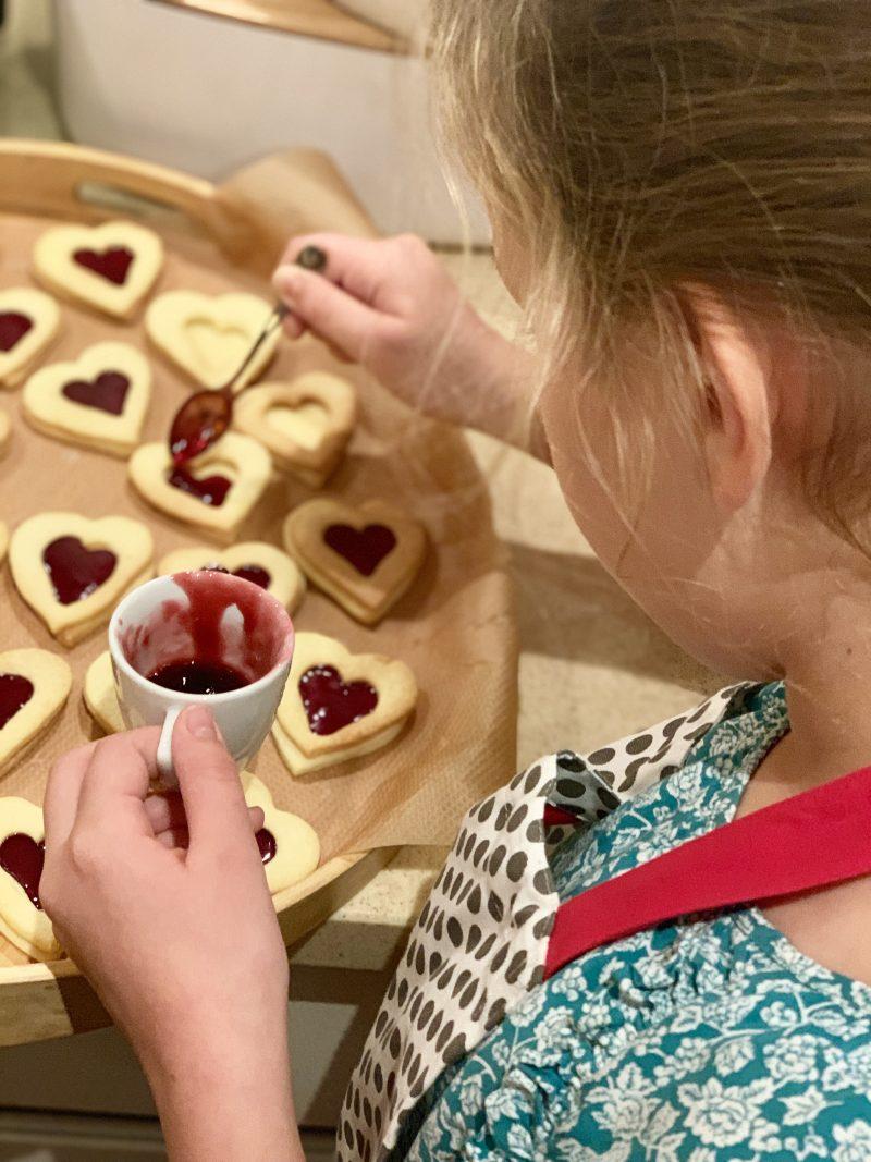 Rezept für Marmeladenherzen | berlinmittemom.com