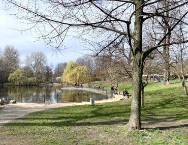 Wochenende in Bildern: Frühling im Volkspark Friedrichshain | berlinmittemom.com