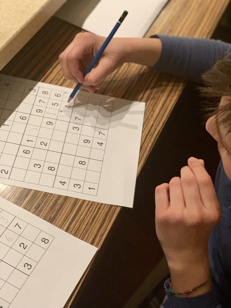 Sudoku | berlinmittemom.com