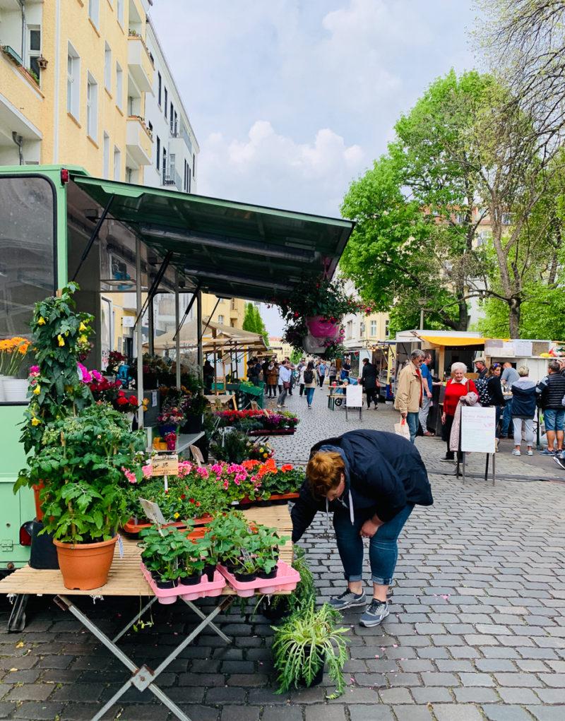 Wochenmarkt Arnswalder Platz | berlinmittemom.com