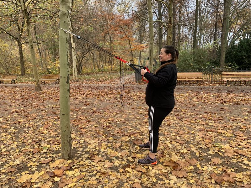 Fitnesstraining mit dem TRX | berlinmittemom.com