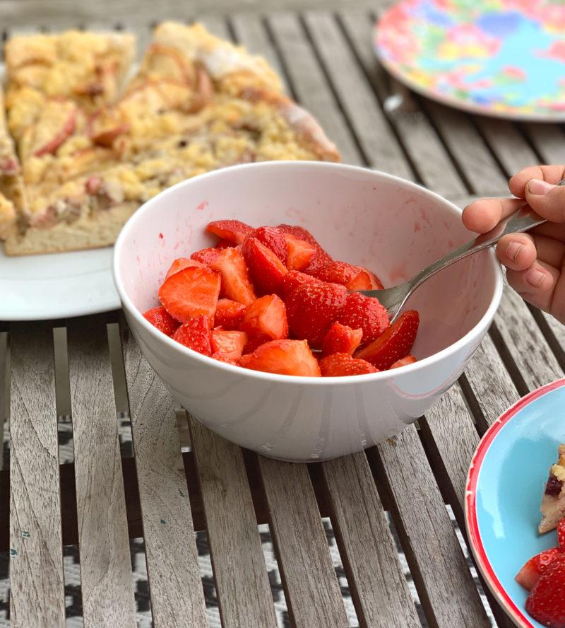 Wochenende in Bildern: erste Erdbeeren | berlinmittemom.com