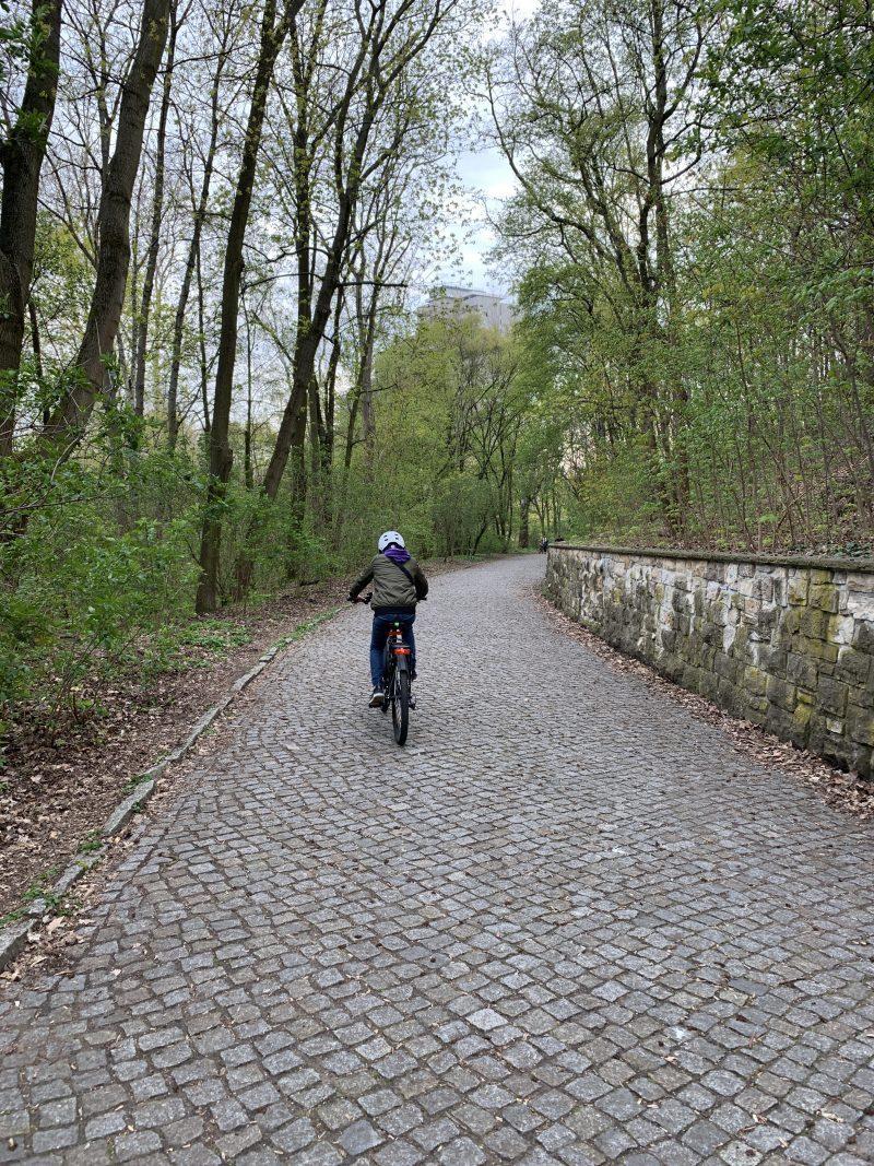 Wochenende in BIldern: Radfahren im Park | berlinmittemom.com