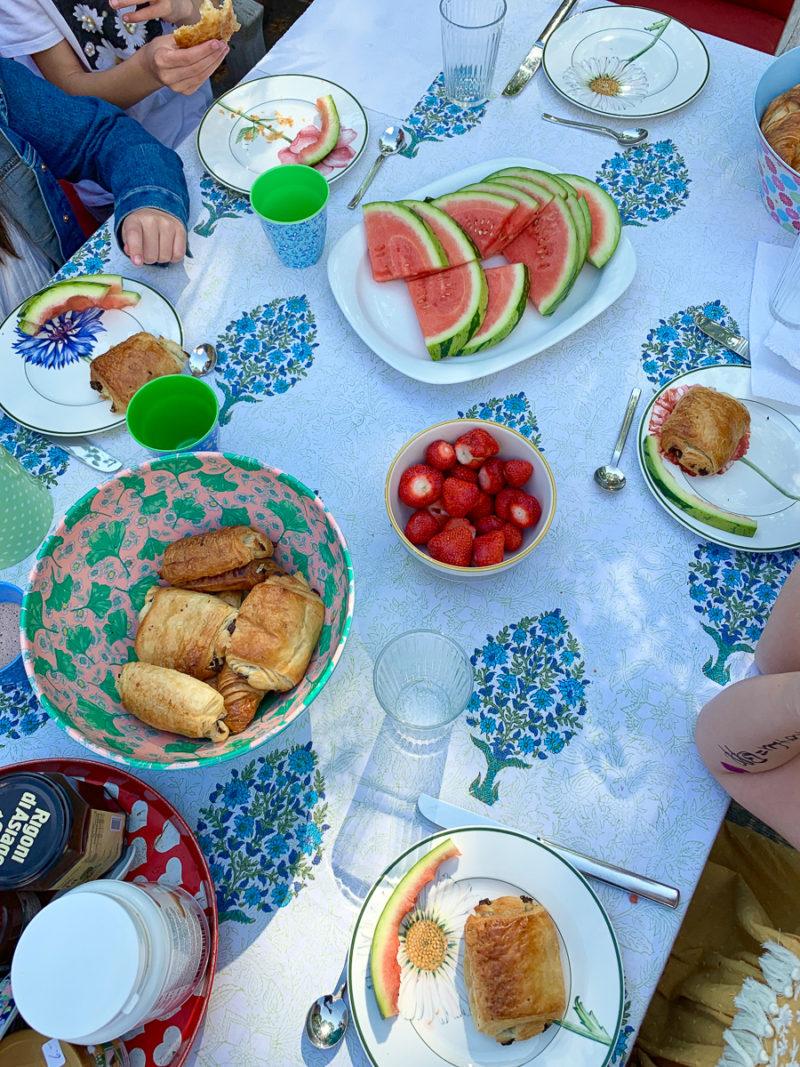 Frühstück im Garten | berlinmittemom.com
