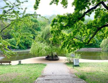 Volkspark Friedrichshain, Ententeich | berlinmittemom.com
