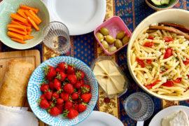 Rezept für Nudelsalat ohne Mayo | berlinmittemom.com