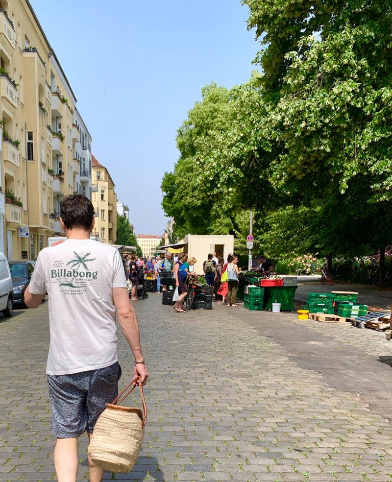 Wochenmarkt am Arnswalder Platz
