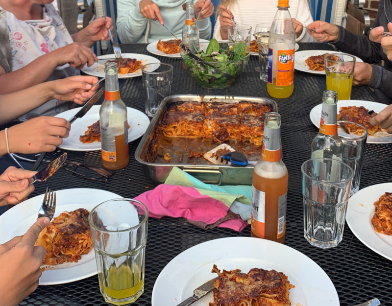 Lasagneessen in Prerow | berlinmittemom.com