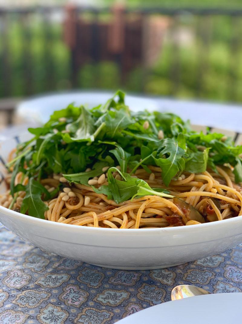 Rezept für beste vegetarische Pasta | berlinmittemom.com