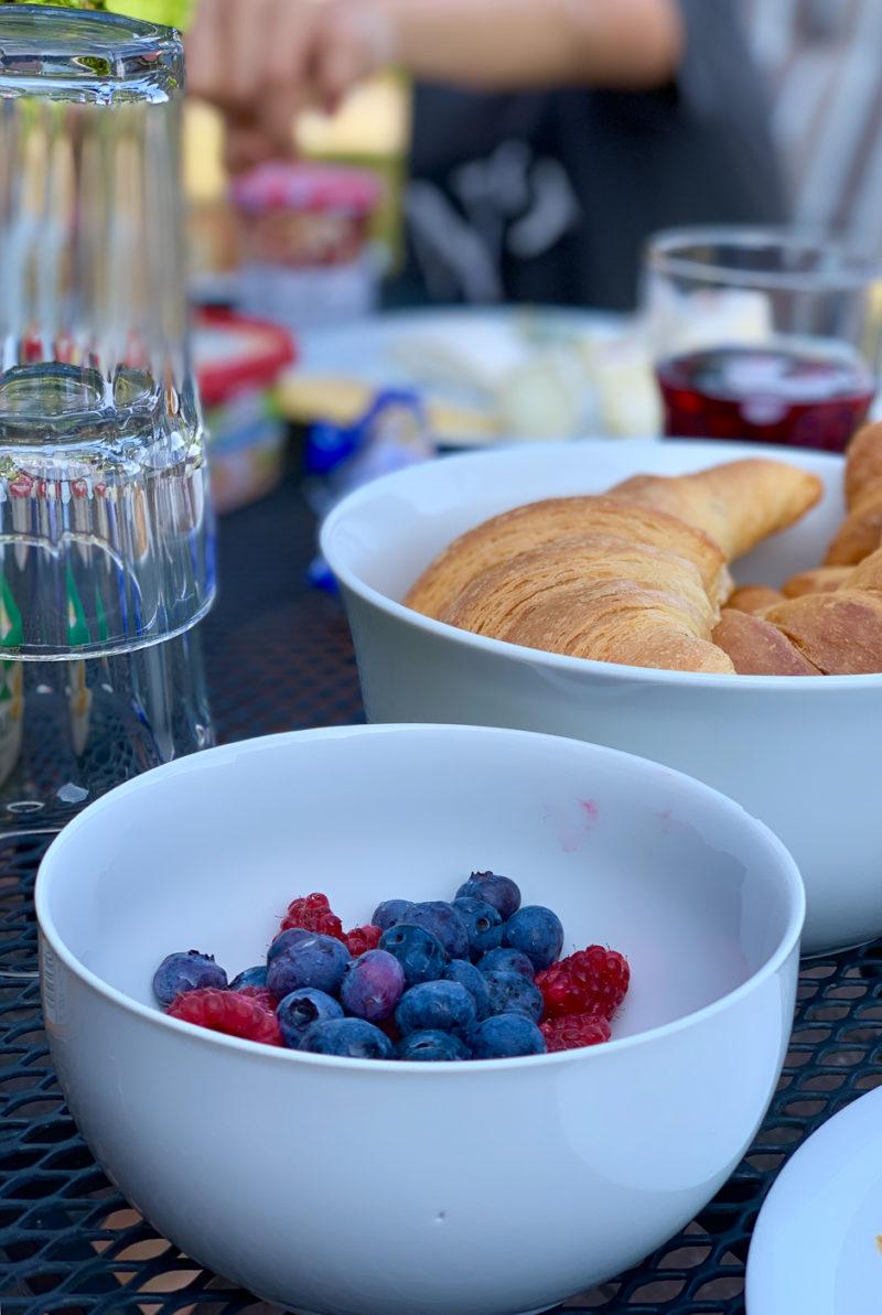 Wochenende in Bildern: Sommerfrühstück | berlinmittemom.com