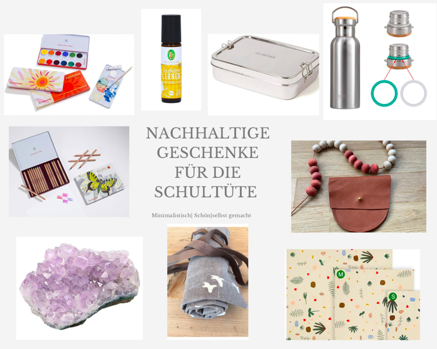 Nachhaltige Geschenke zur Einschulung bei Elfenkindberlin | elfenkindberlin.de