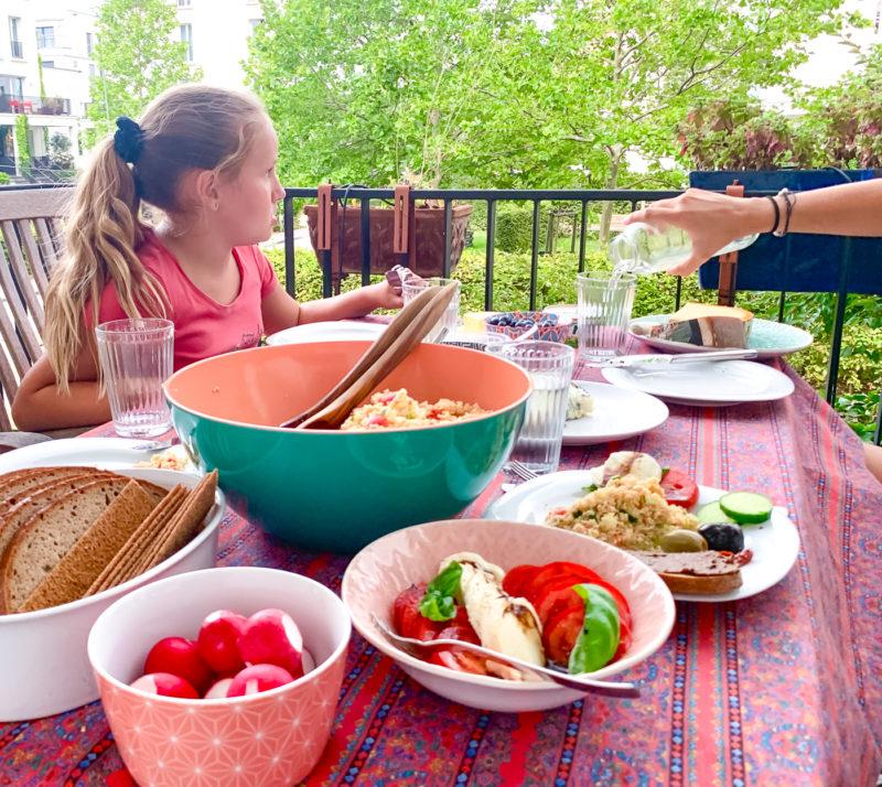 Schneller Couscous Salat mit Gemüse | berlinmittemom.com