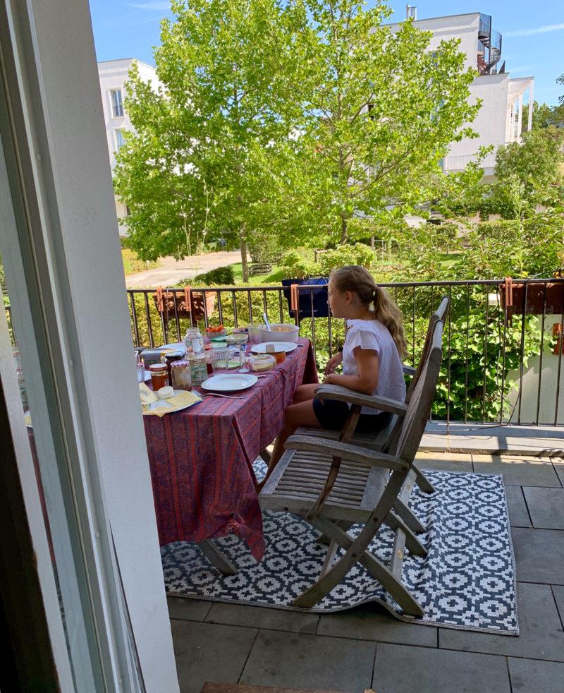 Wochenende in Bildern: Terrassenfrühstück | berlinmittemom.com