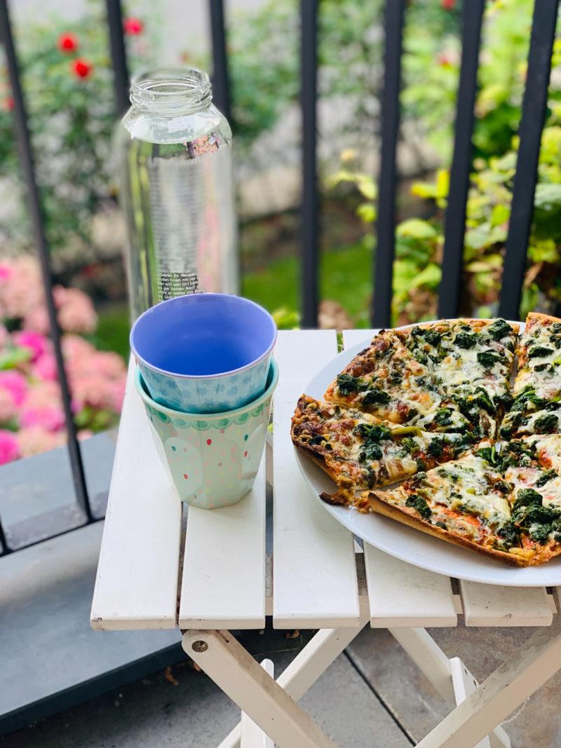 Wochenende in Bildern: Terrassenpizza | berlinmittemom.com