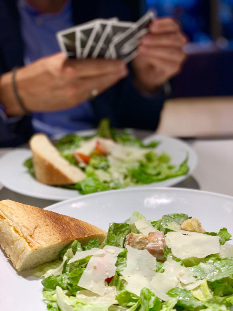 Cesar's Salad am Flughafen |berlinmittemom.com