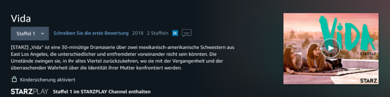 Serie der Woche: Vida | berlinmittemom.com