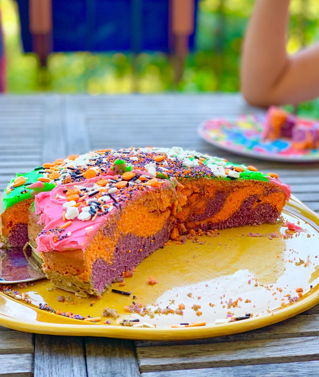 Halloweenkuchen backen für Kindern | berlinmittemom.com