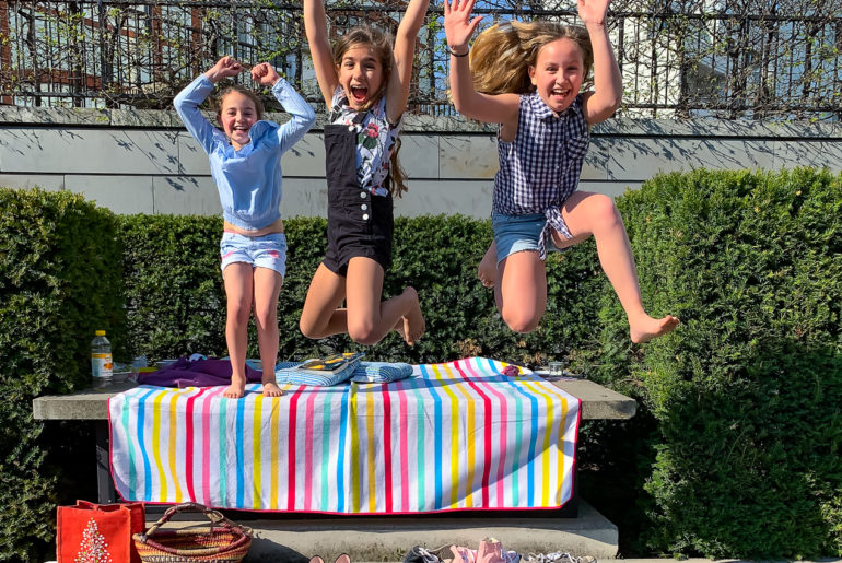 Kinder zu Besuch | berlinmittemom.com