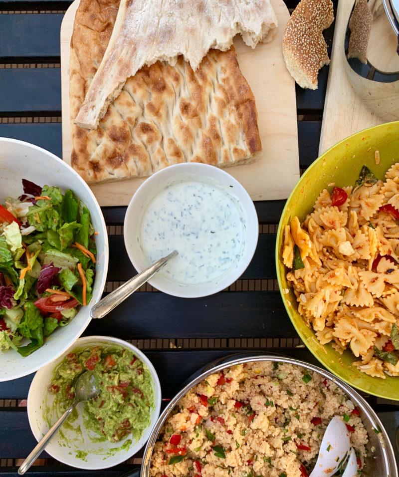 Wochenende in Bildern: Abendessen für viele | berlinmittemom.com