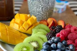 Wochenende in Bildern: Obstfrühstück | berlinmittemom.com