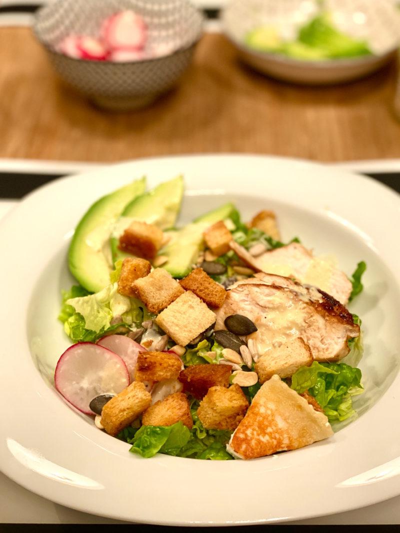 Rezept für Caesar's Salad | berlinmittemom.com