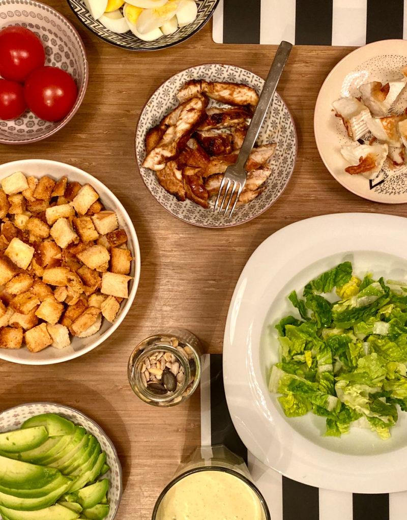 Selbstgemachte Caesar Salad Salatsoße | berlinmittemom.com