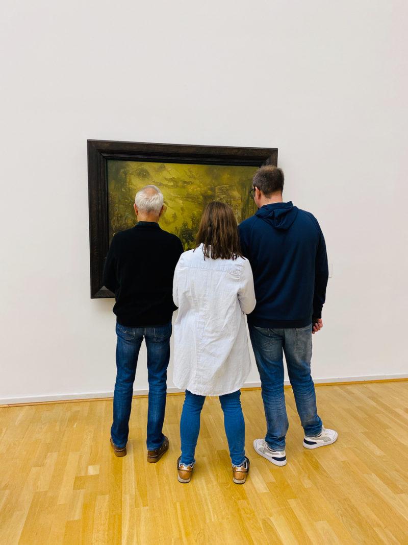Kunsthalle Hamburg, Kunstverstand II | berlinmittemom.com