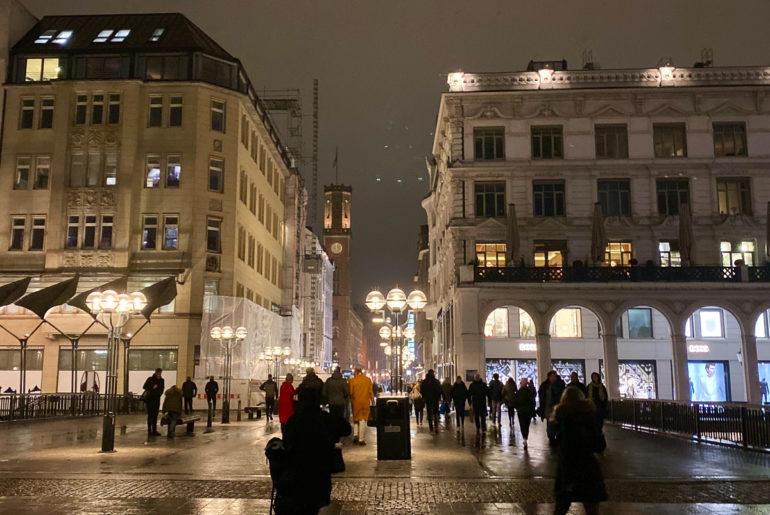 Hamburg bei Nacht | berlinmittemom.com