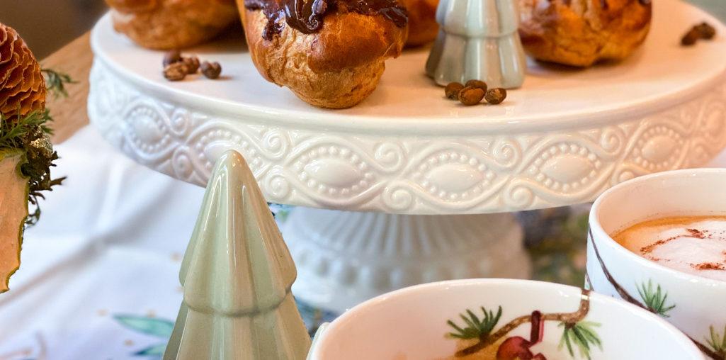 Eclairs mit Kaffeecreme | Adventlicher Kaffeeklatsch mit Gala von Eduscho