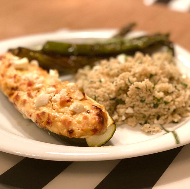 Gefüllte Zucchini mit Couscous | berlinmittemom.com