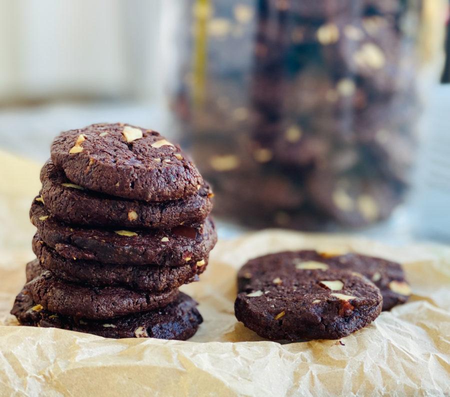 Schoko Cookies mit Haselnüssen | berlinmittemom.com