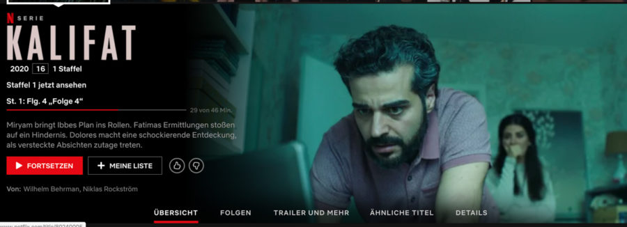 "Freitagslieblinge: Serientipp ""Kalifat"" | berlinmittemom.com"