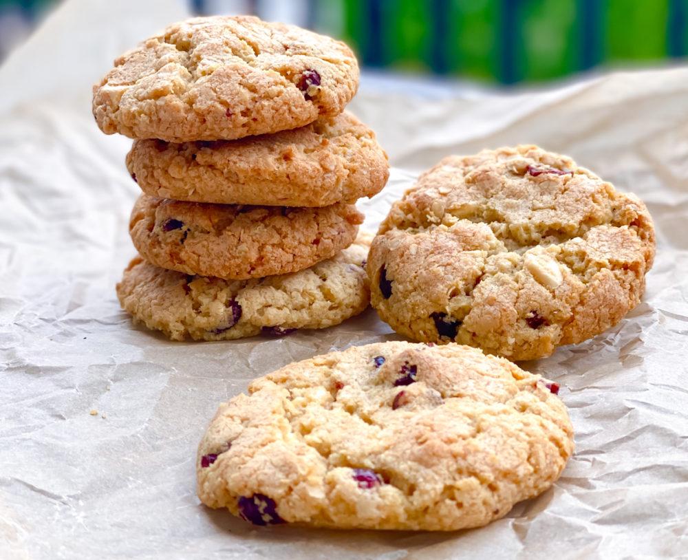 Cookies mit Cranberries und weißer Schokolade | berlinmittemom.com