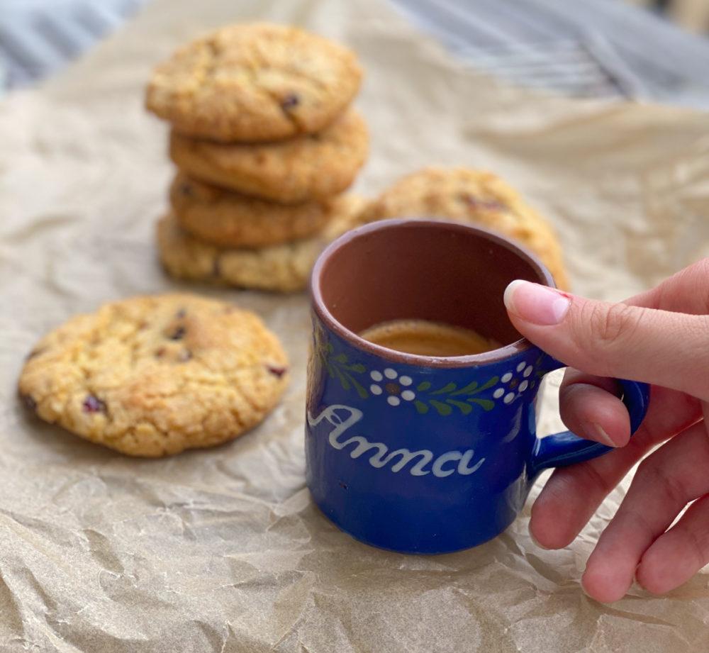 Rezept für Cranberry Cookies mit weißer Schokolade | berlinmittemom.com