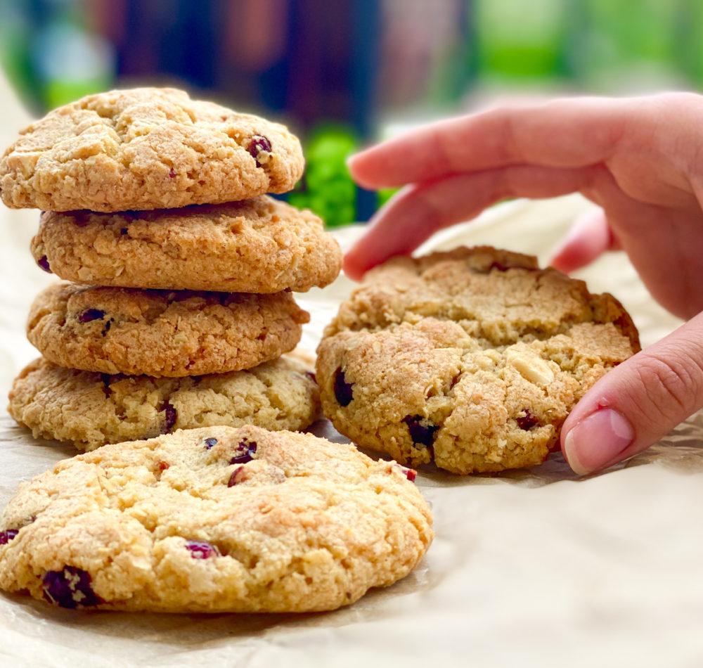 Cookies mit Cranberries | berlinnmittemom.com