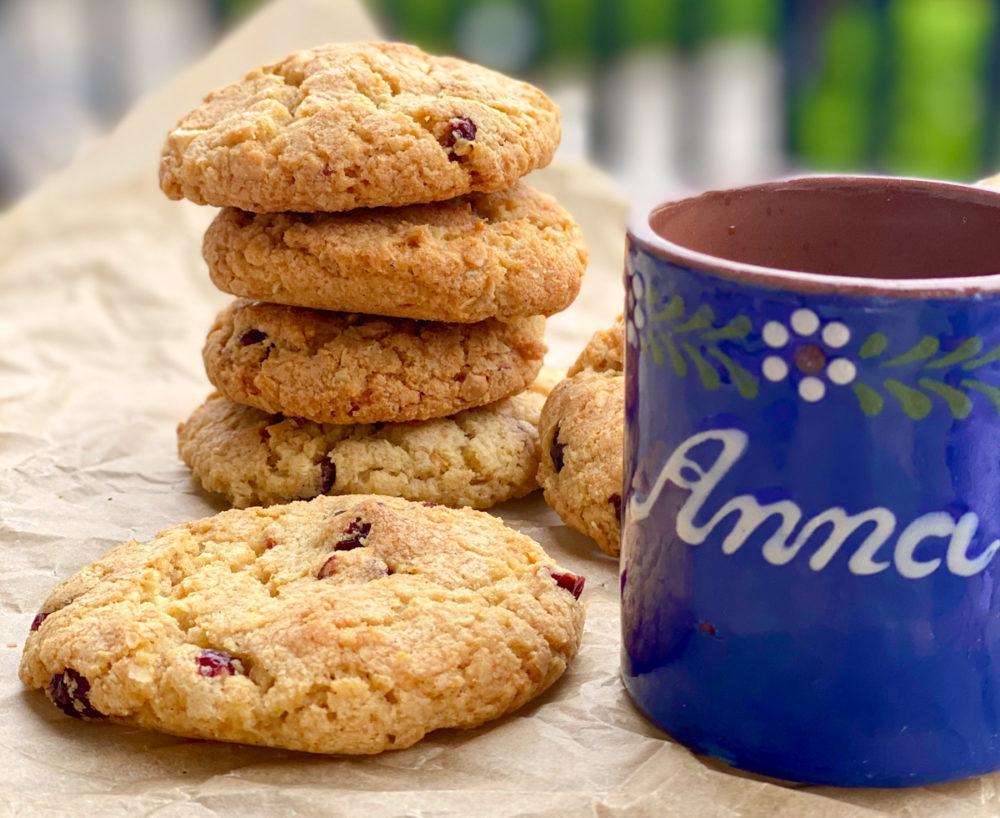 Cranberry Cookies mit weißer Schokolade | berlinmittemom.com