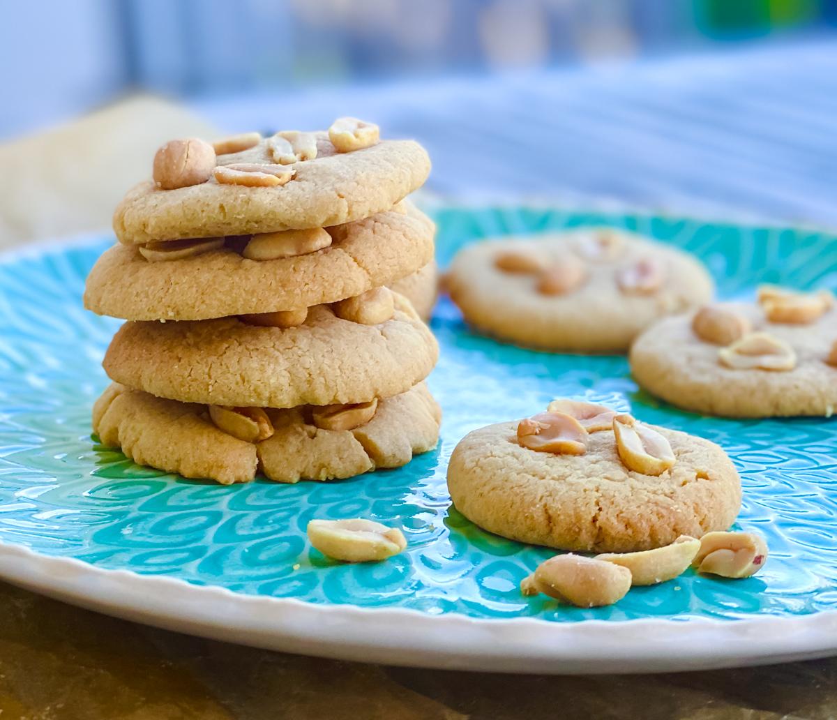 Erdnussbutter Cookies Rezept | berlinmittemom.com