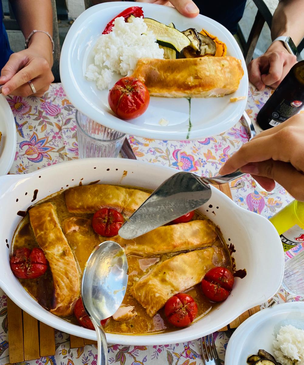 Rezept für asiatisch marinierten Lachs | berlinmittemom.com