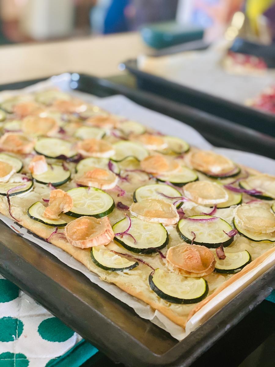 Vegetarischer Flammkuchen | berlinmittemom.com